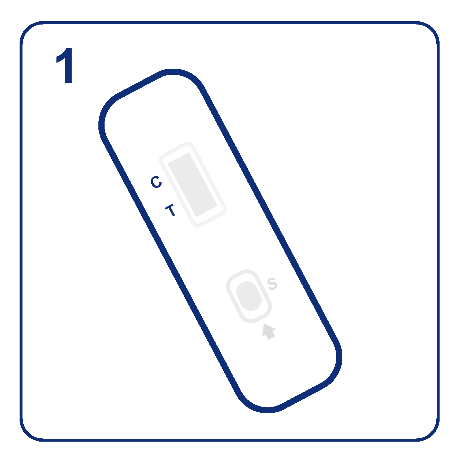 Place the cassette on a level surface at room temperature (15-25°C, 59-77°F).